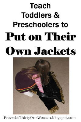 Teach Little Kids to Put on Their Own Coat