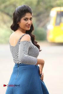 Telugu Actress Roshini Prakash Stills Short Dress at Saptagiri Express Release Press Meet  0041.JPG