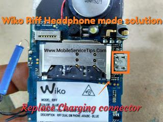 Wiko Riff Headphone Mode Solution Mobileservicetips Com