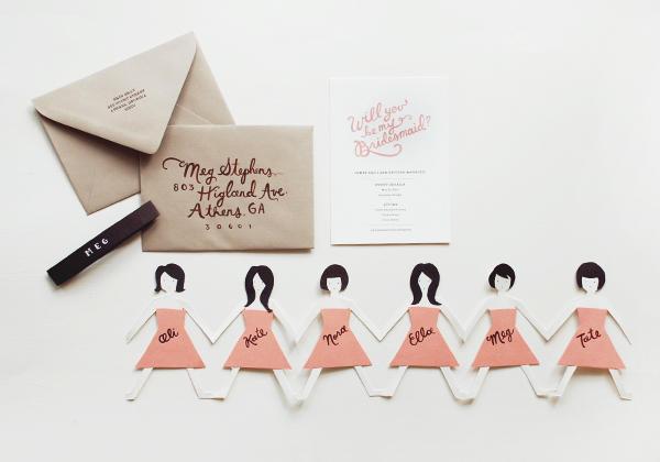 "Juneberry Lane: Wedding Wednesday: DIY ""Will You Be My"