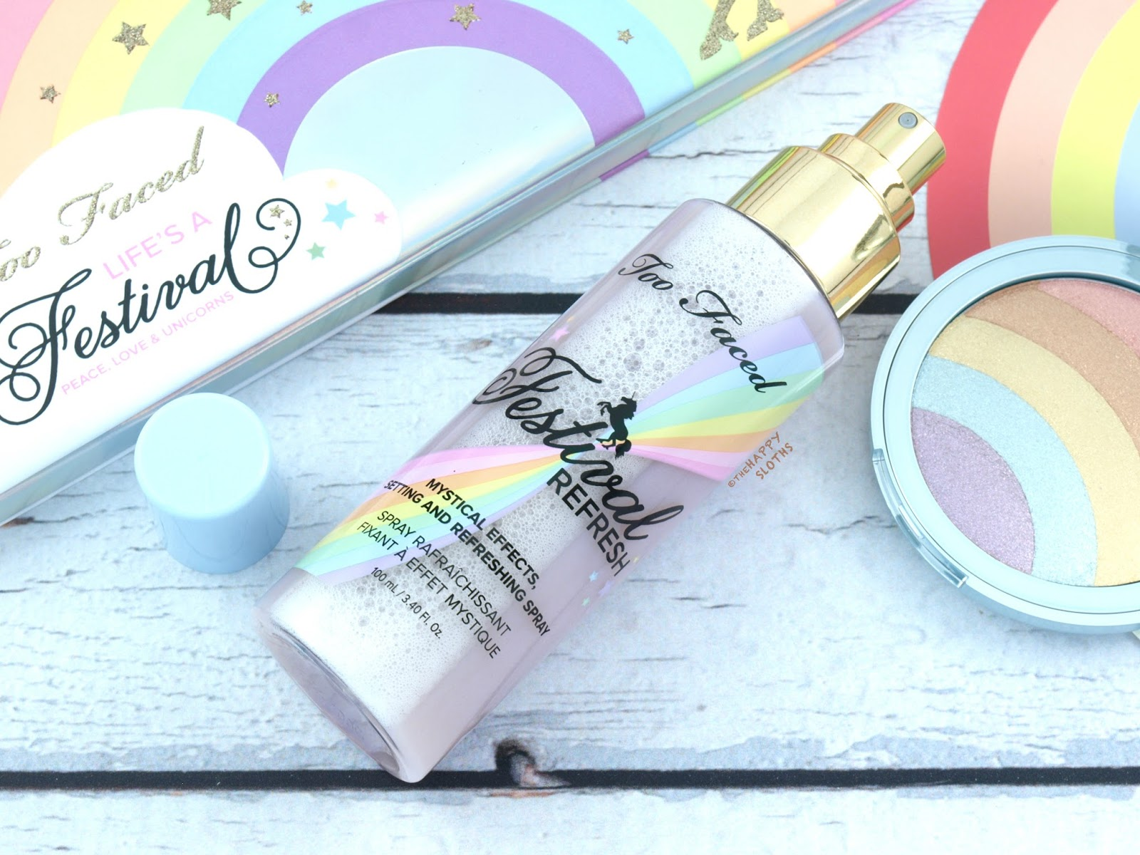 Too Faced | Life's A Festival Refresh Spray : Review and Swatches