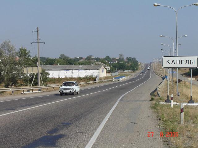Nogai village Kangly