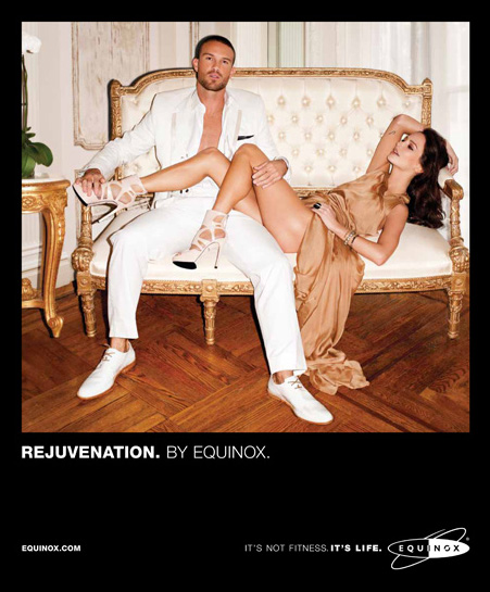 Equinox ad campaign by Terry Richardson