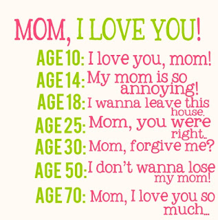 Mom! I love you
