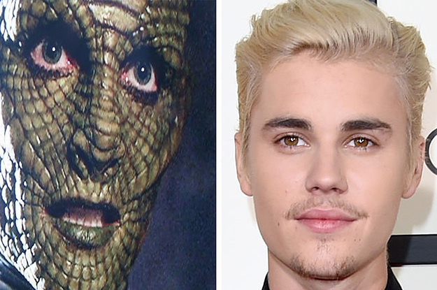Recent Footage Shows Justin Bieber Transforming Into A Reptilian