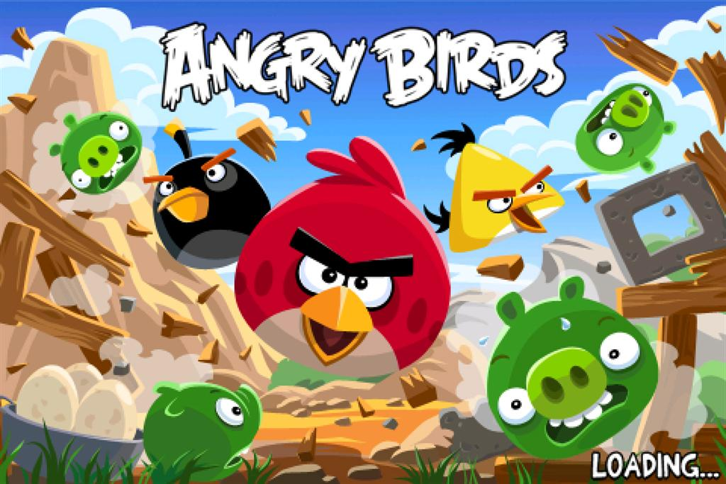 Angry Birds Birthday Party Cake Game