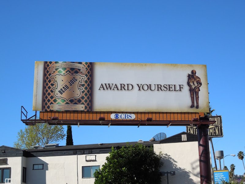Beau Joie Award yourself billboard