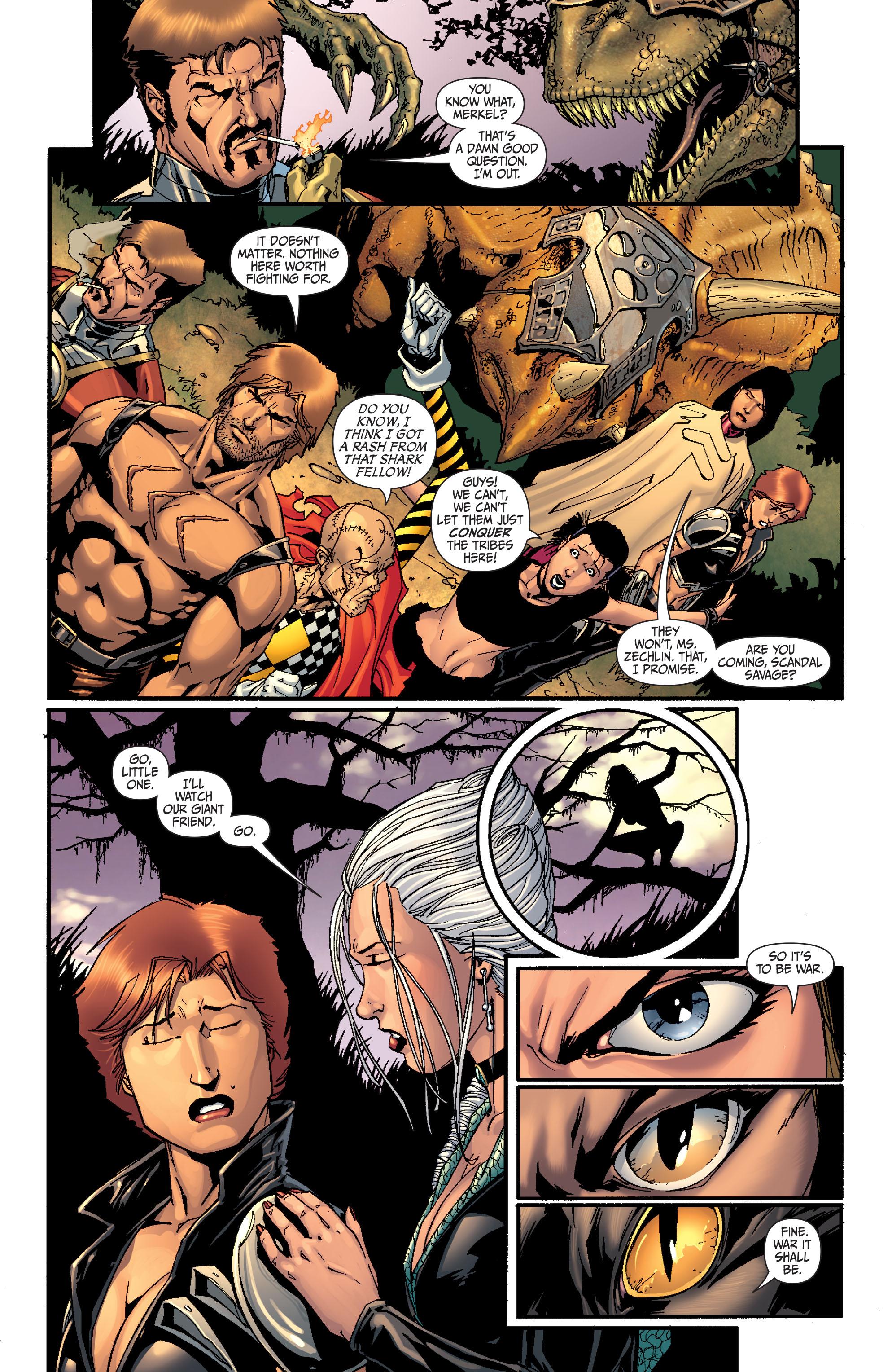 Read online Secret Six (2008) comic -  Issue #27 - 11