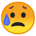 Disappointed Worry emoji