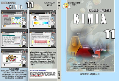 Software CD pembelajaran Kimia SMA