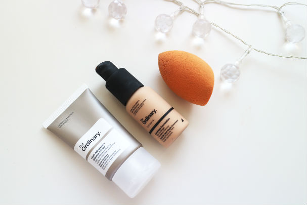 The Ordinary Coverage Foundation and High Adherence Primer | The Beauty is a Beast
