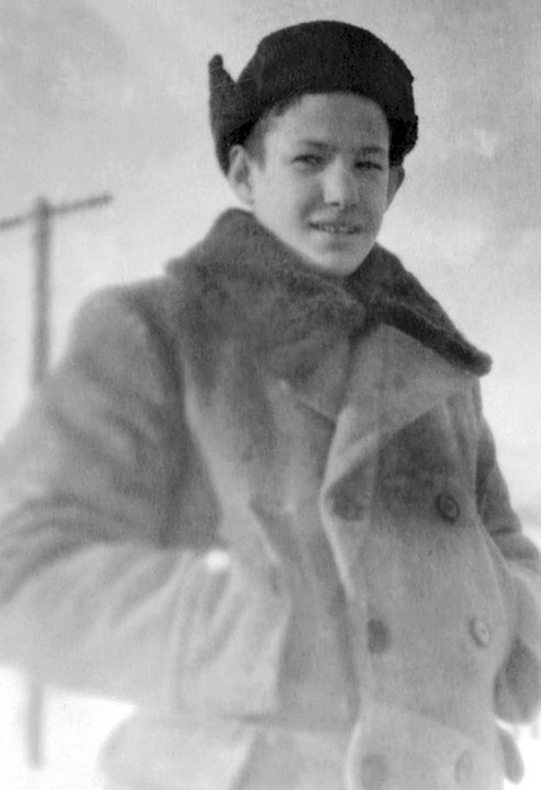 Yeltsin during high school. 1948.