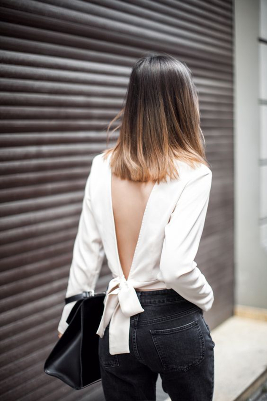 Inspiration | Tie Back Tops