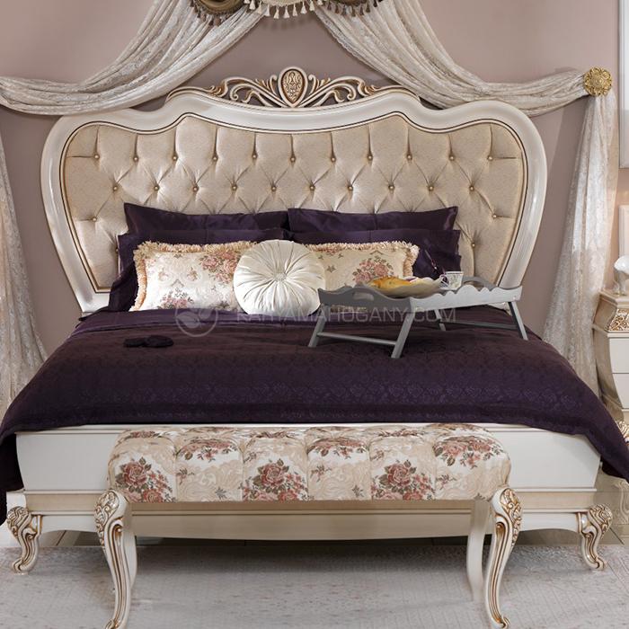 Tempat Tidur Mahkota - Dipan Mewah Jepara