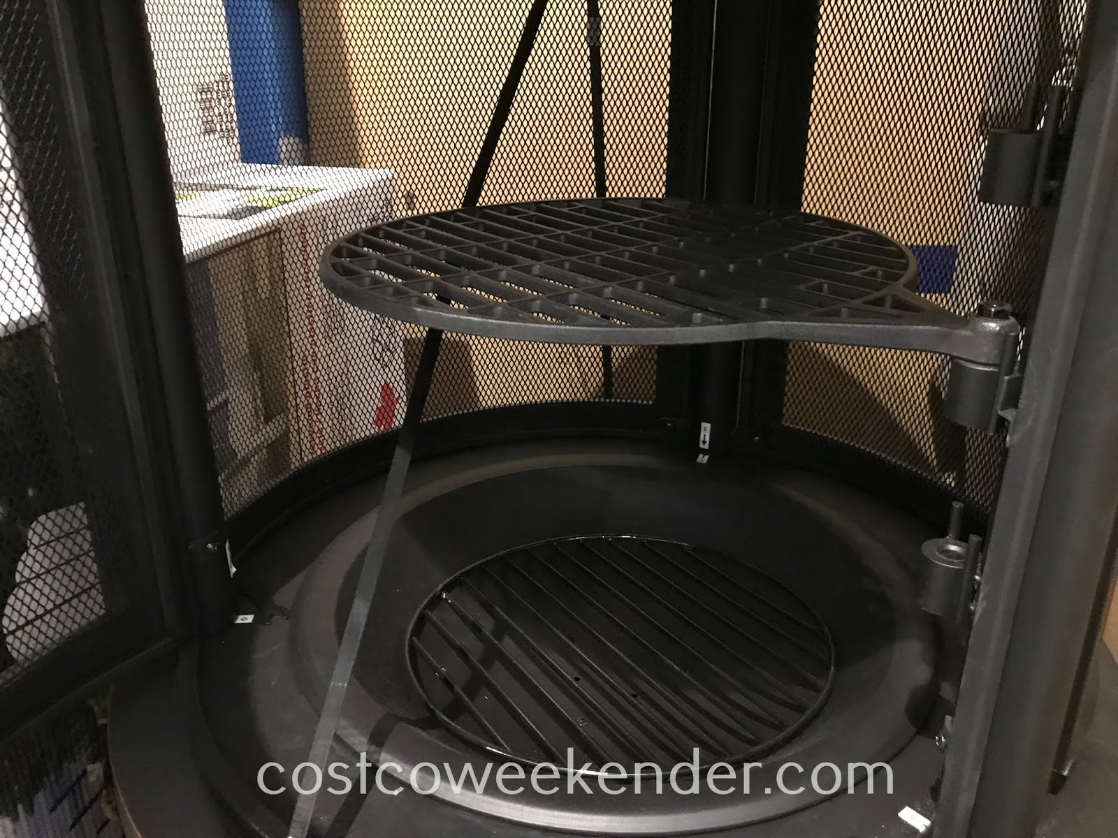 Costco 1900726 - The Hello Outdoors Outdoor Cooking Pit can be provide warmth and a surface to cook on in your backyard
