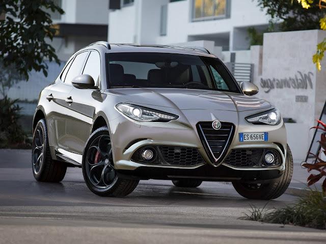 Alfa Romeo Stelvio 2017 SUV