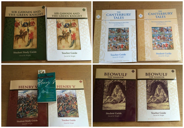 Memoria Press Ninth Grade Literature Guide Set - A Classical way to study literature.