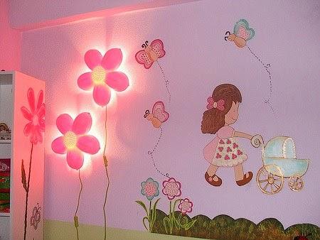 Aku bukan bidadari tips dekorasi bilik ruang anak dengan - Small wall decor ideas ...