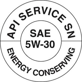 Dona de aceite que contiene el rango API y SAE