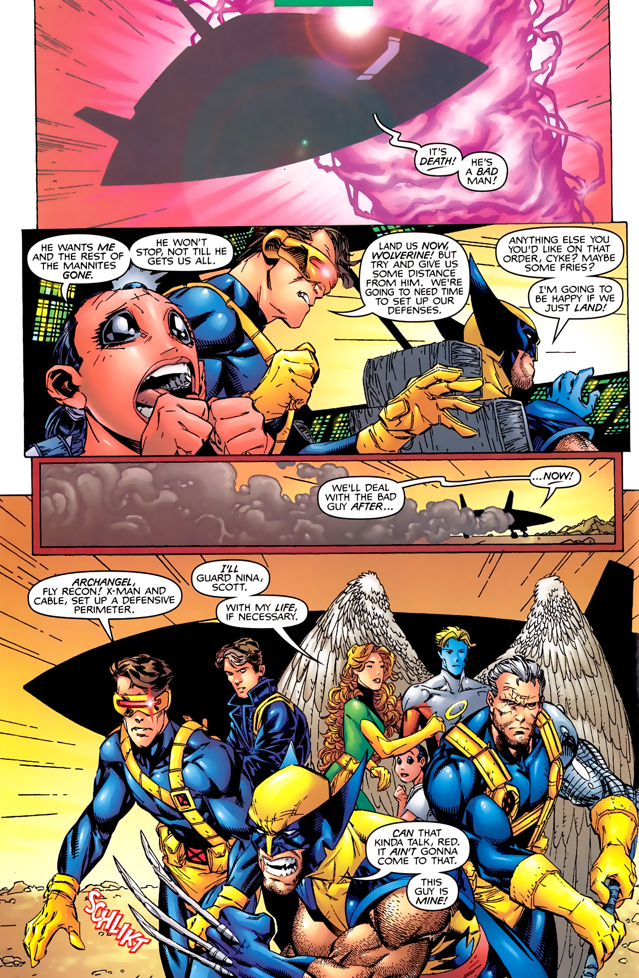Read online Astonishing X-Men (1999) comic -  Issue #2 - 4