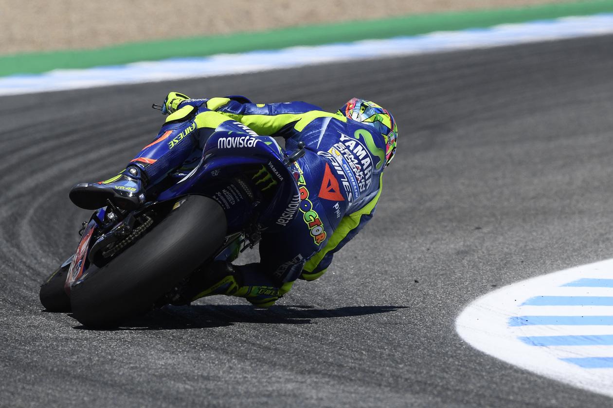 Berita Seputar MotoGP Rossi Merasa Beruntung Bisa Finis Di Jerez
