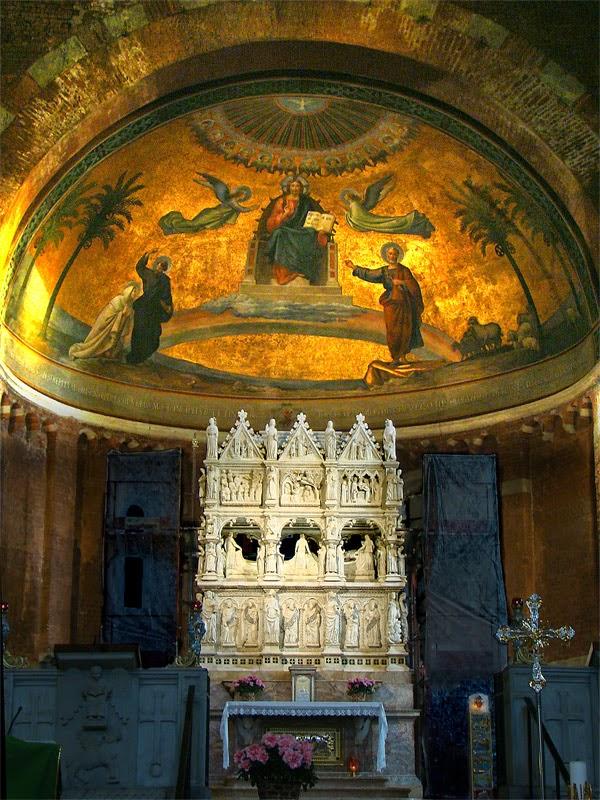 Tumba de san Agustín en Pavía
