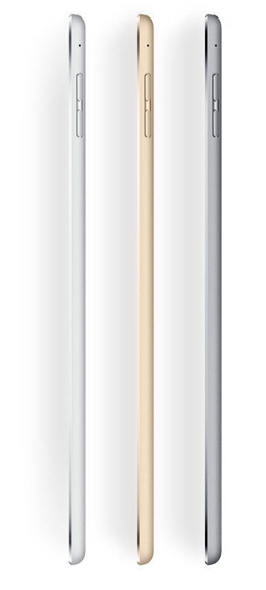 iPad mini 4 side view