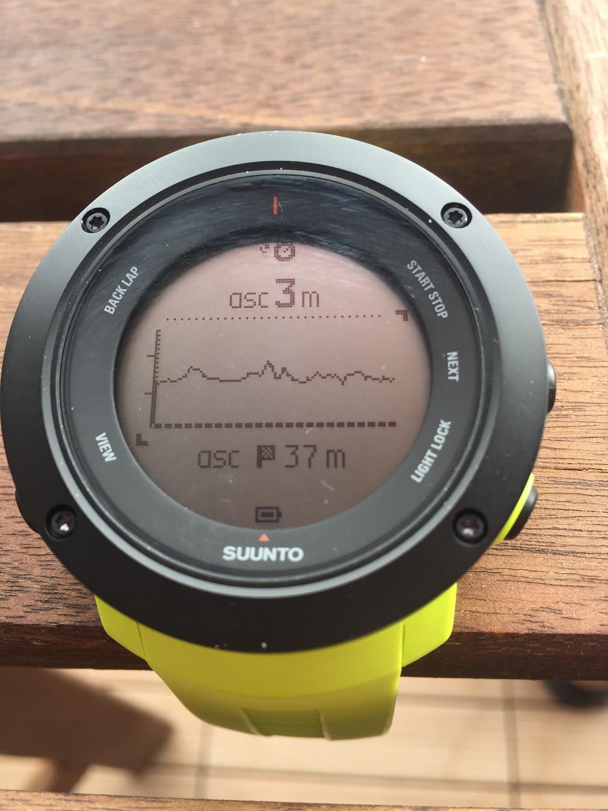 První hodinky s touto funkcí byly teda technicky Suunto Traverse 62ae0833d0
