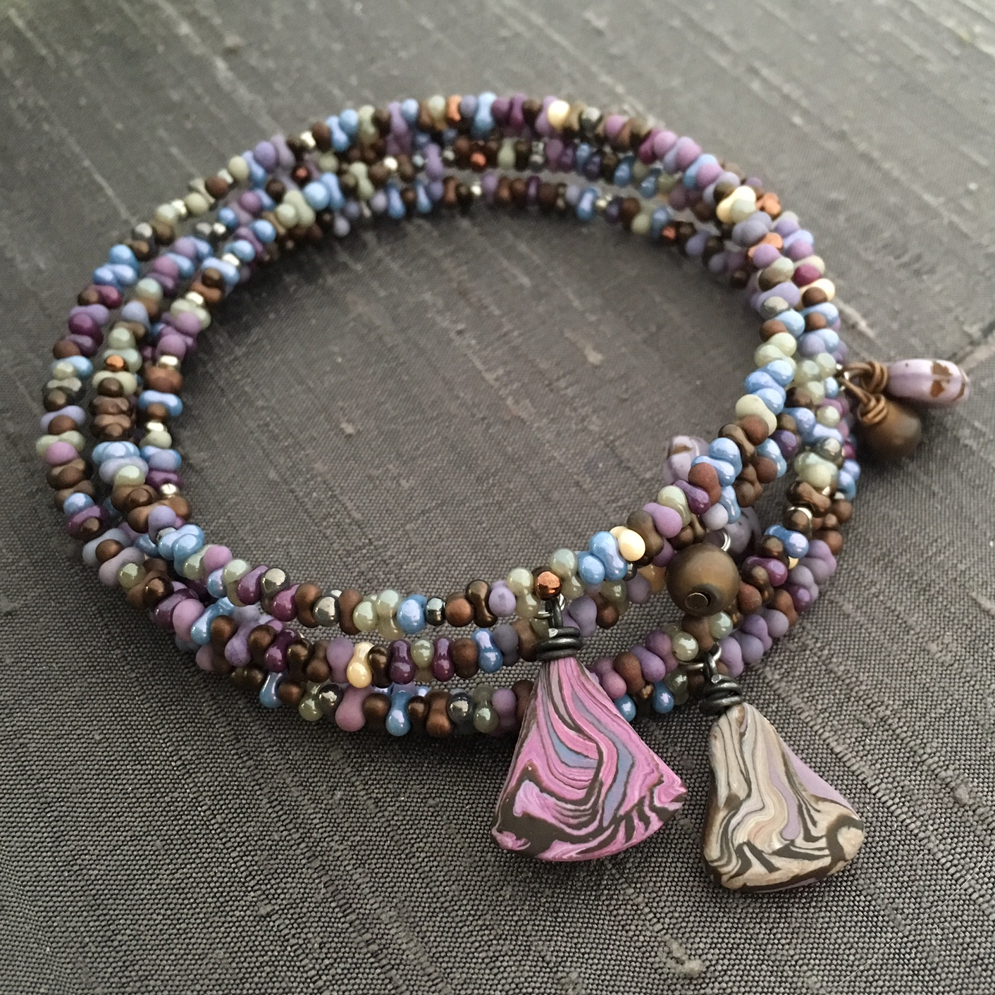 Humblebeads Blog: Bead Table Wednesday - Memory Wire and Bead ...