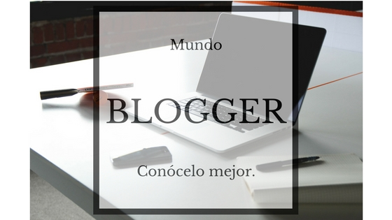 Cartel mundo Blogger