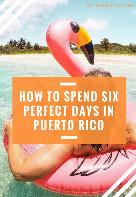 The Perfect Puerto Rico Itinerary: El Yunque, Vieques, Condado & Old San Juan - Kelsey Social