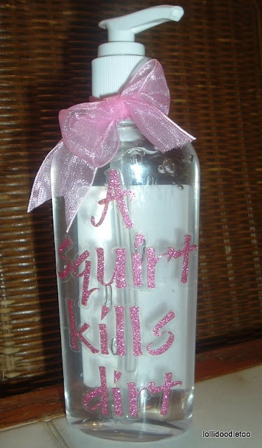 Tiaras And Bowties Hand Sanitizer For Teacher Gift