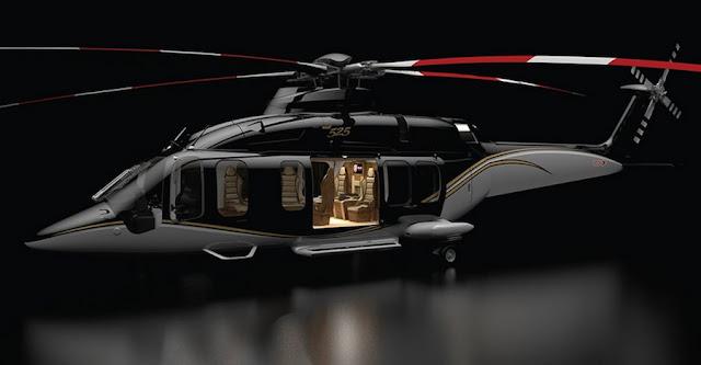 ヘリコプター向けに用意された超豪華なインテリアオプションがスゴい