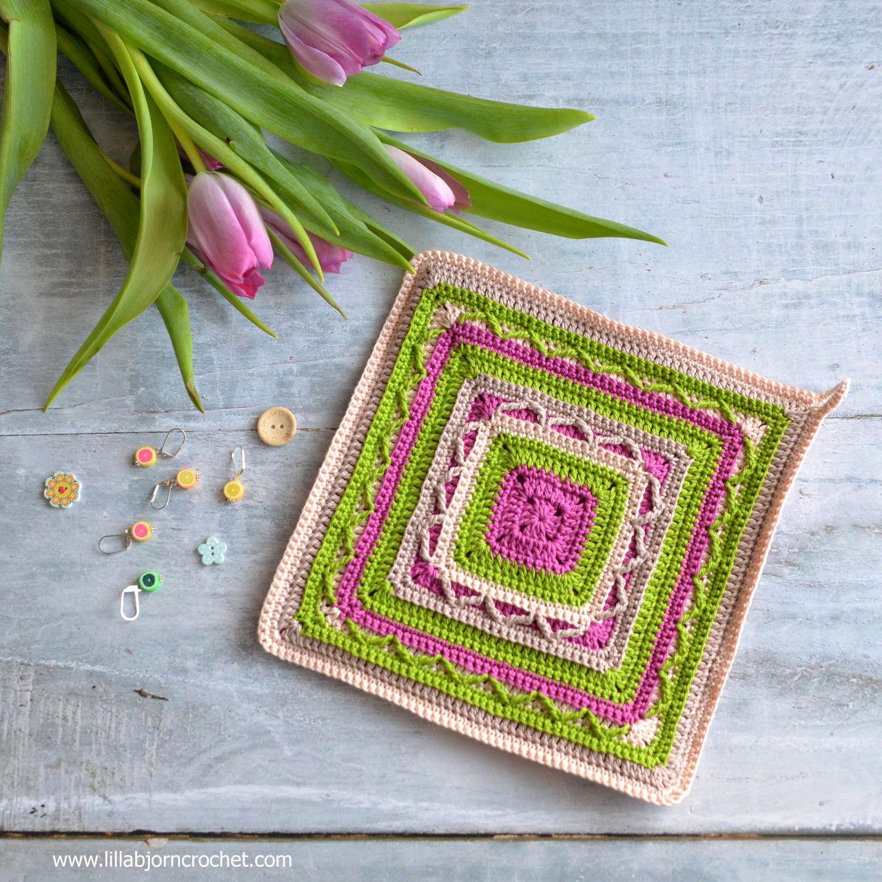 Edging Pot Holders: Crochet Potholders: Art In Small (FREE Pattern