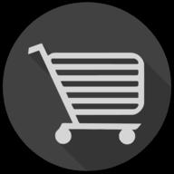 cart blackout icon