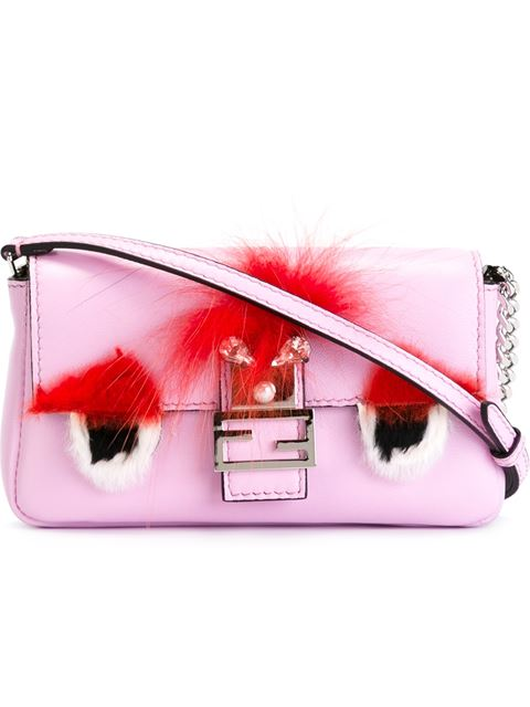 8f175ba33332 For my picks I have selected a look around the FENDI Micro Baguette which  with its fluffy embellishments shows off its monstrous side and is really  the ...