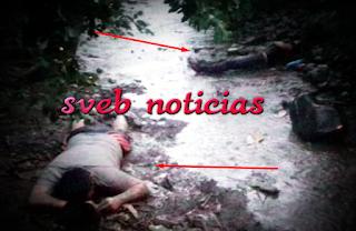 Ejecutan a 2 sujetos la tarde de este Viernes en Martinez de la Torre Veracruz