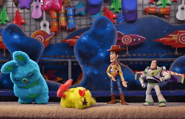 toy story 4 Ducky y Bunny nuevos personajes