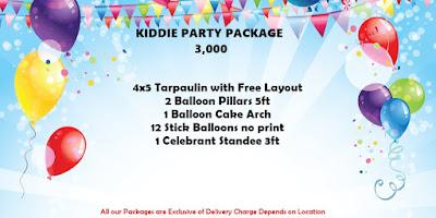 kiddie party package in cebu