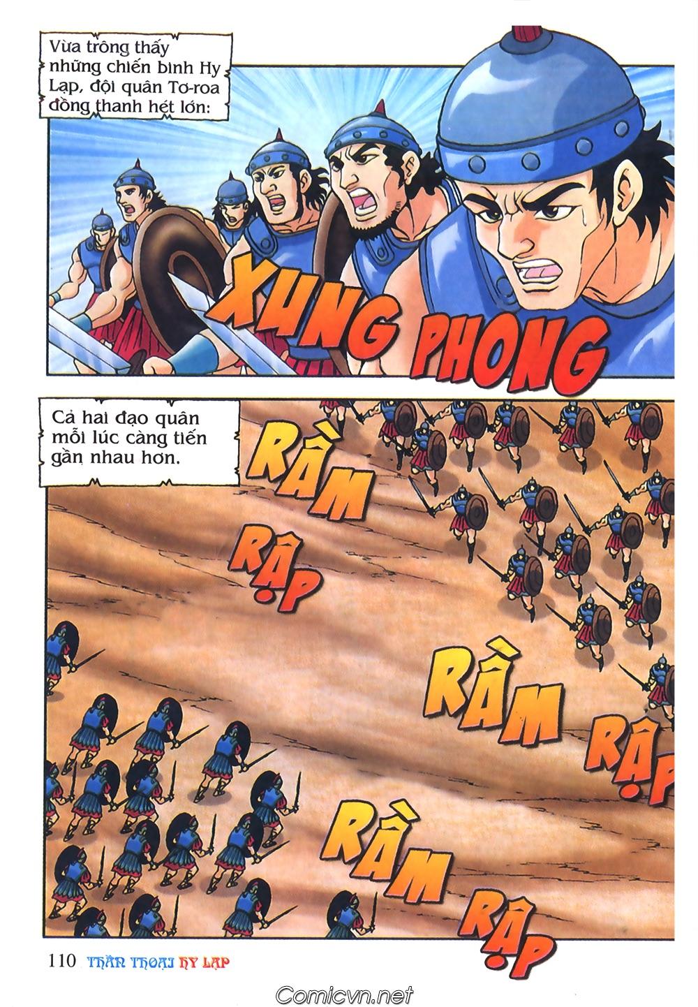 Thần Thoại Hy Lạp Màu - Chapter 55: Trận chiến đầu tiên - Pic 14