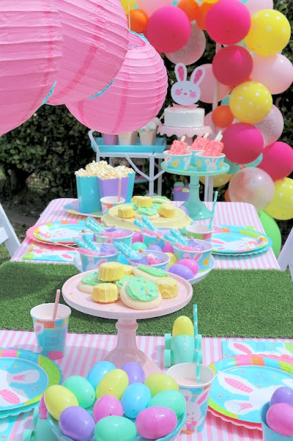 Easter Party Ideas With Party City Laura S Little Party