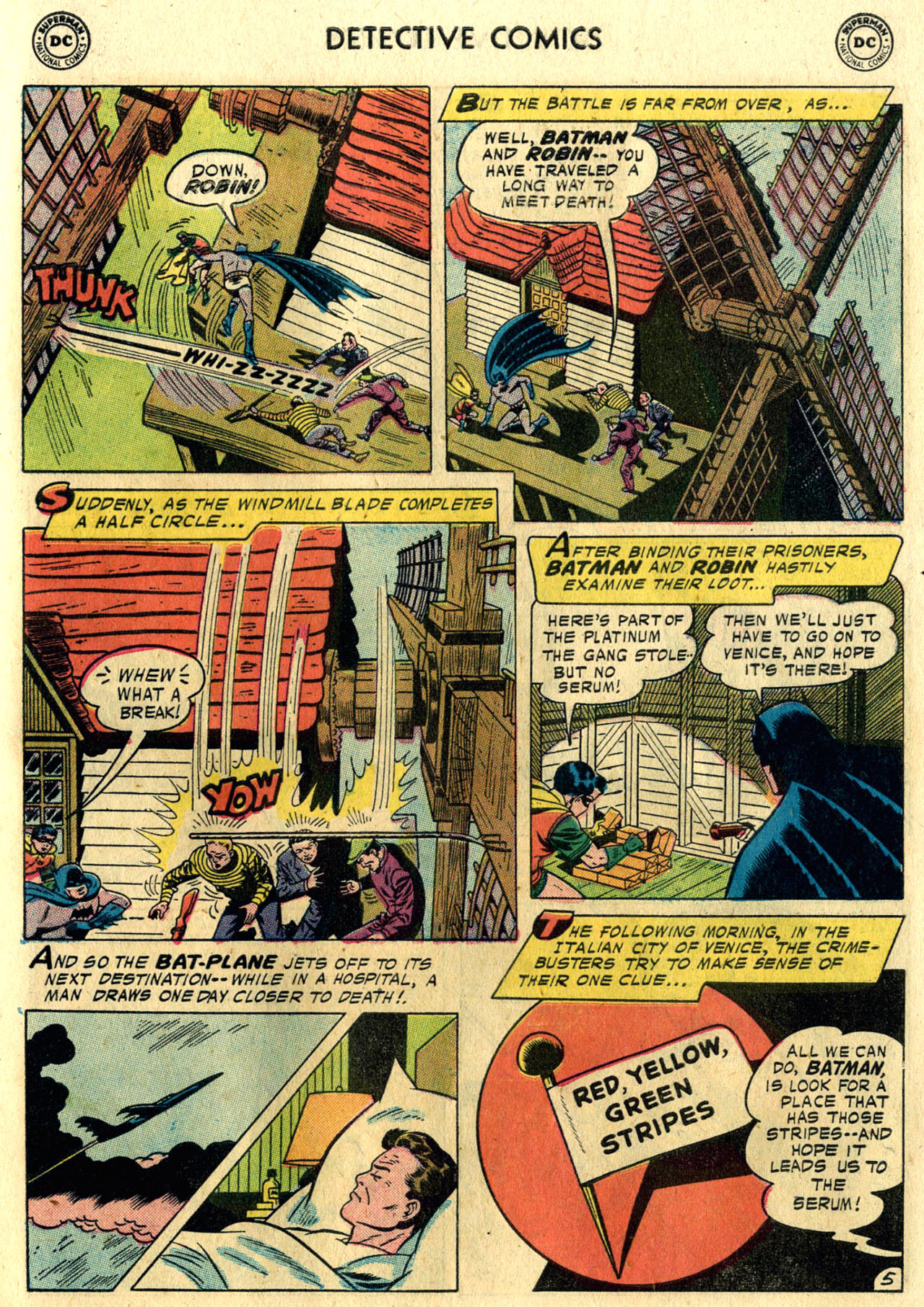 Read online Detective Comics (1937) comic -  Issue #248 - 7
