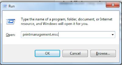 Cara Menghapus Driver Printer yang tidak digunakan di Windows 7