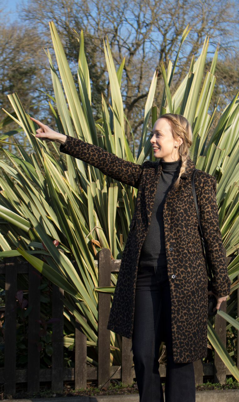 Styling My Leopard Print Coat and Flares