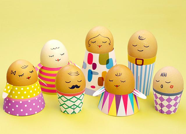 Decoration of Easter Egg