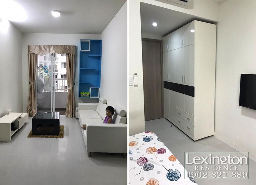 Lexington cho thuê giá rẻ căn hộ 2 phòng ngủ tầng 7 Block LC - hình 4