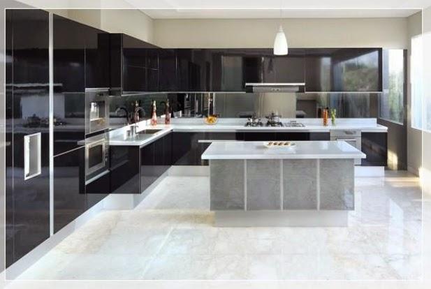 9 desain dapur  mewah memukau Ide interior kelas dunia