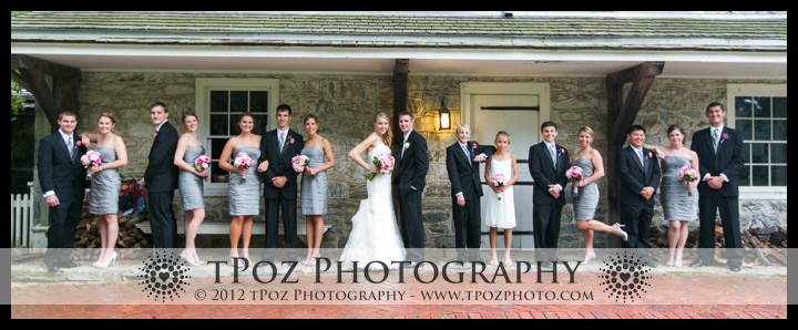 Bridal Party Wedding Photo Landis Valley Museum