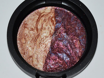 Laura Geller Rome/Milan Baked Marble Eyeshadow Duo Review & Swatches