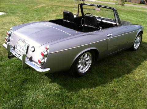 1968 Nissan Datsun 2000 Convertible Roadster For Sale - Get Some Sun